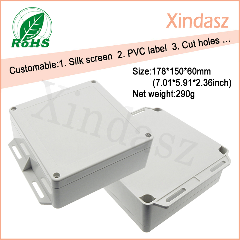 150*150*60mm plastic enclosure box for electronic, wall mount plastic enclosure plastic box for electronic project 4 pcs handheld plastic enclosure for electronic 238 134 58mm plastic enclosure box switch box china electronic enclosure