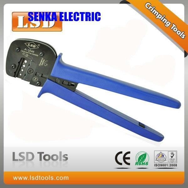 A-1546 MC4 Tyco Crimper 1.5-6mm2 Terminal Crimping Tool Solar Panel Crimping Tool