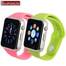 Nuevo smart watch para el teléfono android t2 cámara 1.54 ips tarjeta sim soporte de sincronización de reloj notificador conectividad bluetooth correa de silicona
