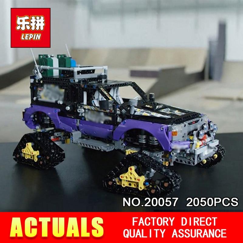 Lepin 20057 2050Pcs Genuine Technic Mechanical Series 42069 The Ultimate Extreme Adventure Car Set Building Blocks Bricks Toys