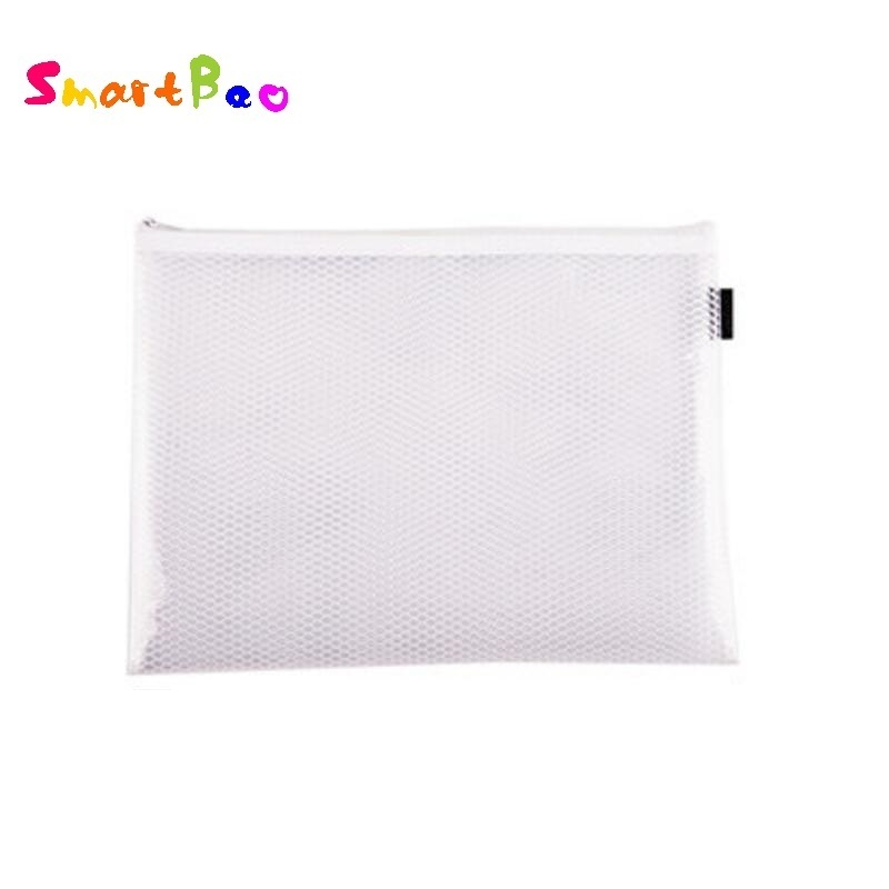 2Pcs/Lot High Quality EVA A4 File Folder Soft Plastic Zipper Bag Eco-friendly Document Bag ; 328*243mm