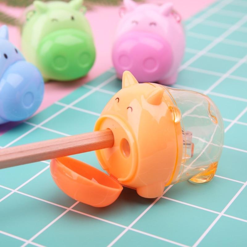 Stationery Hippo Pencil Sharpener  Student Kids Random Tk