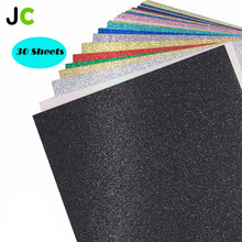 Glitter Cardstock Folding Decoration Paper Wrapping Papers Handmade DIY Scrapbooking Craft  JC 30pcs/set 12x12