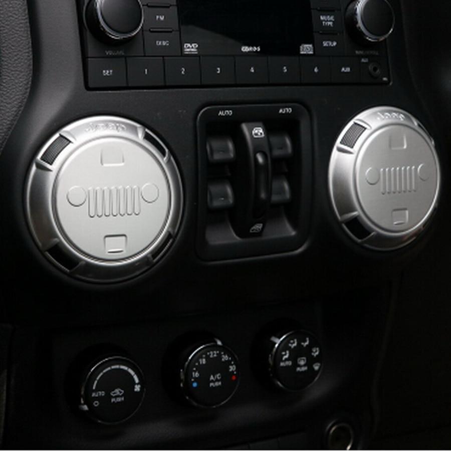 4PCS 2016 Newest Car Air Vent Trim Cover Interior Moldings