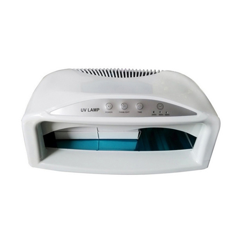 Benice 54W UV Lamp Nail Dryer With Fan 110-240V EMC Standard Nail Art Equipment Nail Treatment Curing Nail Gel Art Tools 2 Hands