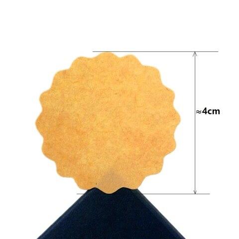 1000 pcs lote em branco papel kraft