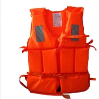 Adult Professional Life Vest For Fishing Swimwear Polyester Life Jacket for Water Sports Piscine Swimming Drifting Surfing