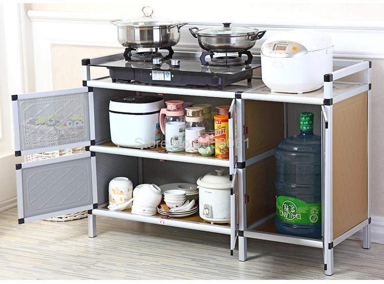 Stove Shelf Kitchen Gas Cabinet Kitchen Rack Gas Stove Shelf