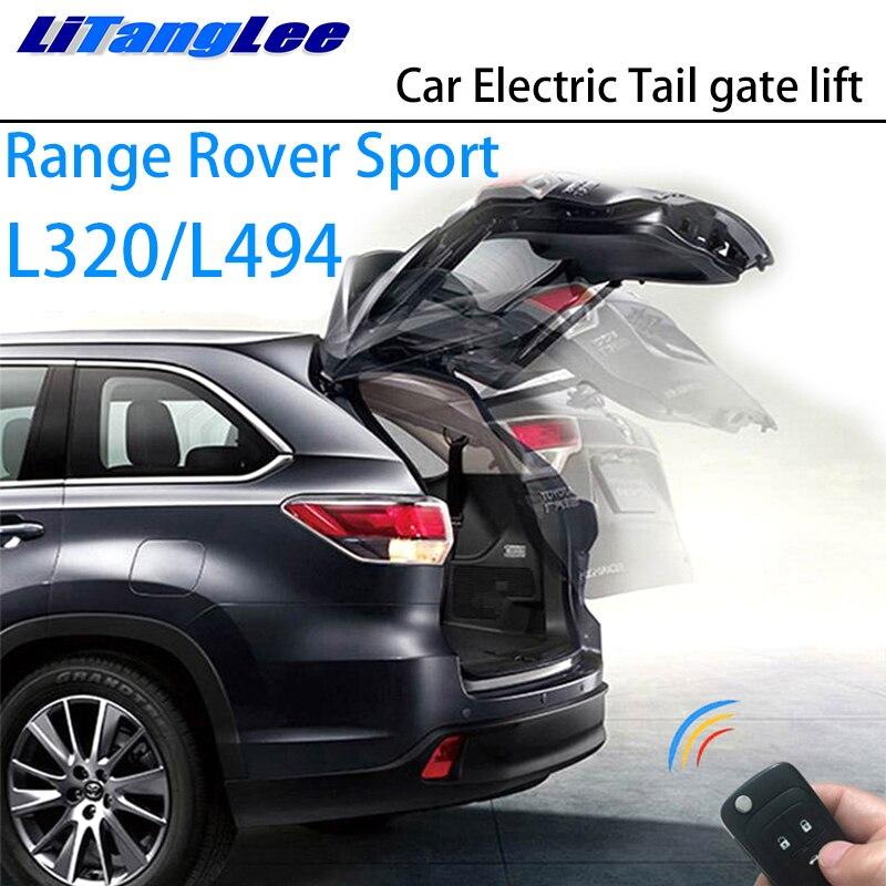Elevador eléctrico para puerta trasera de coche LiTangLee, sistema de asistencia para puerta trasera de maletero para Land Rover Range Rover Sport L320 L494 2005 ~ 2019 Control