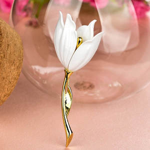 Red Tulip Brooch Jewelry Pretty-Products Vintage Fashion Excellent Trend Magic Personality