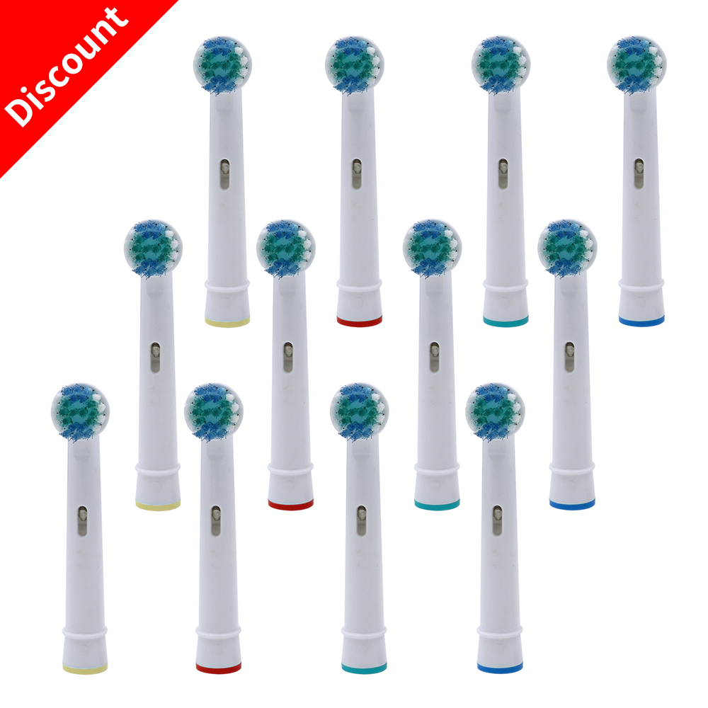 20pcs Replacement Brush Heads For Oral B Electric Toothbrush Fit Advance Power Health Triumph 3D Excel Vitality Precision Clean image