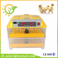 New Design Mini Brooder 96 Egg Automatic Incubator Controller Poultry Hatchery Machine For Chicken Duck Quail