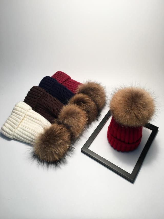 winter hats for women pom pom hat  (12)
