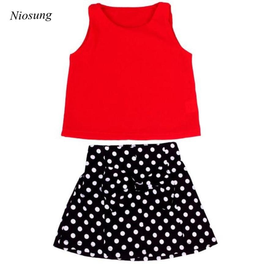 Мода Bbay жилет для девочек плиссированное платье Двойка Комплект одежды детская юбка костюм без рукавов с оборками Комплект одежды оптовая ...