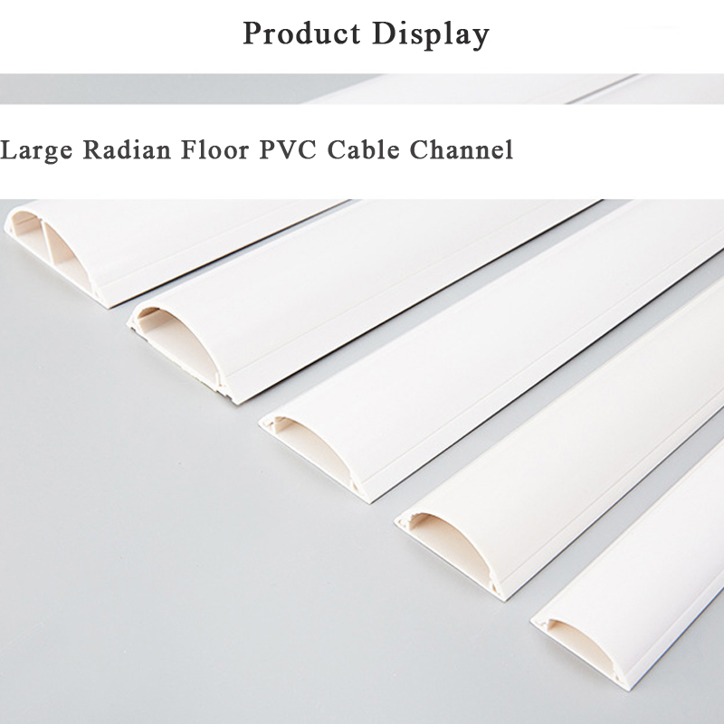 45x12mm Tv Cable Concealer Cord Cover Cable Trunking Pvc Wire