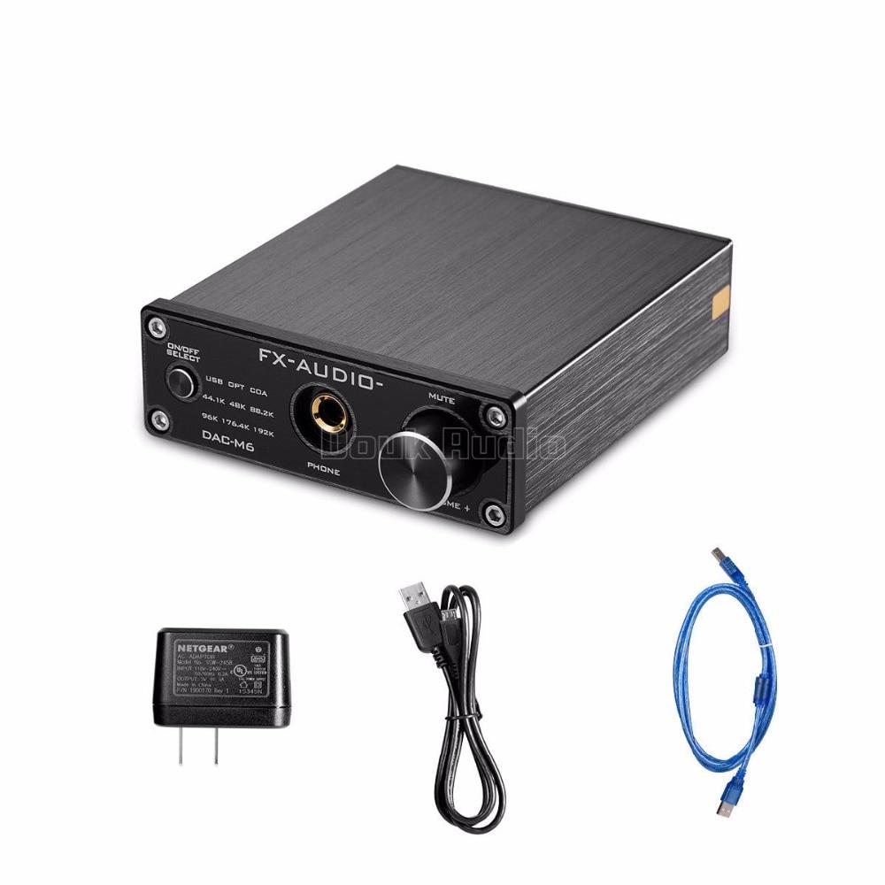HiFi Digital USB DAC Headphone Amp PC Sound Card AK4452 Audio Decoder 192K hifi pcm2706 cs4270 usb audio digital interface dac decoder converter sound card