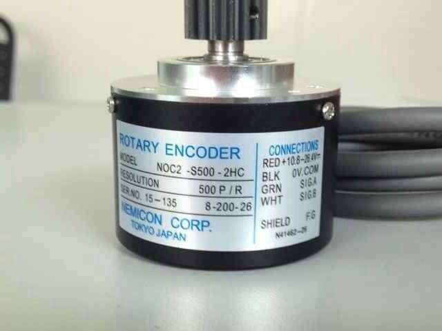 M038 # injection molding machine encoder CNC veneer lathe / / lathe encoder 500 pulses injection molding machine 45 70