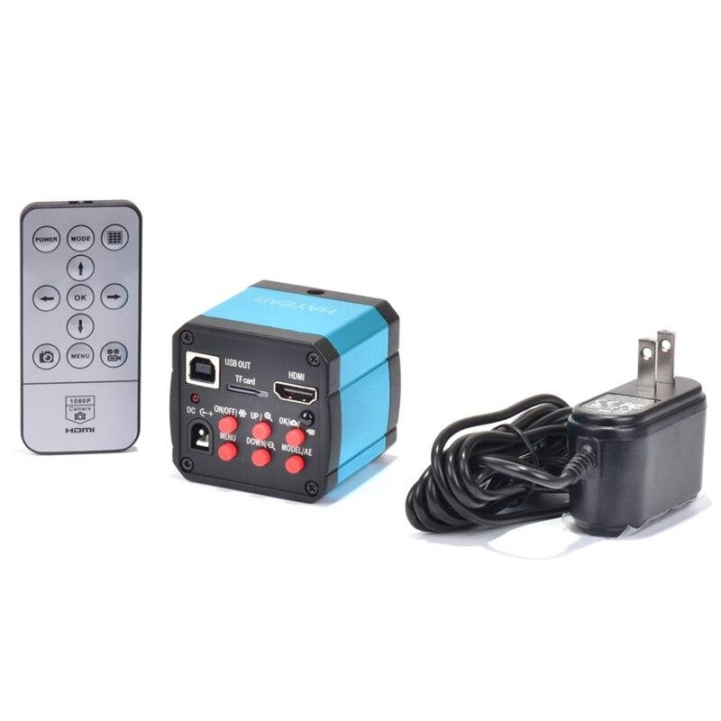 FHD 2K 23MP 60FPS HDMI USB промышленный электронный цифровой видео микроскоп камера C крепление камера для PCB IC ремонт пайки - 4