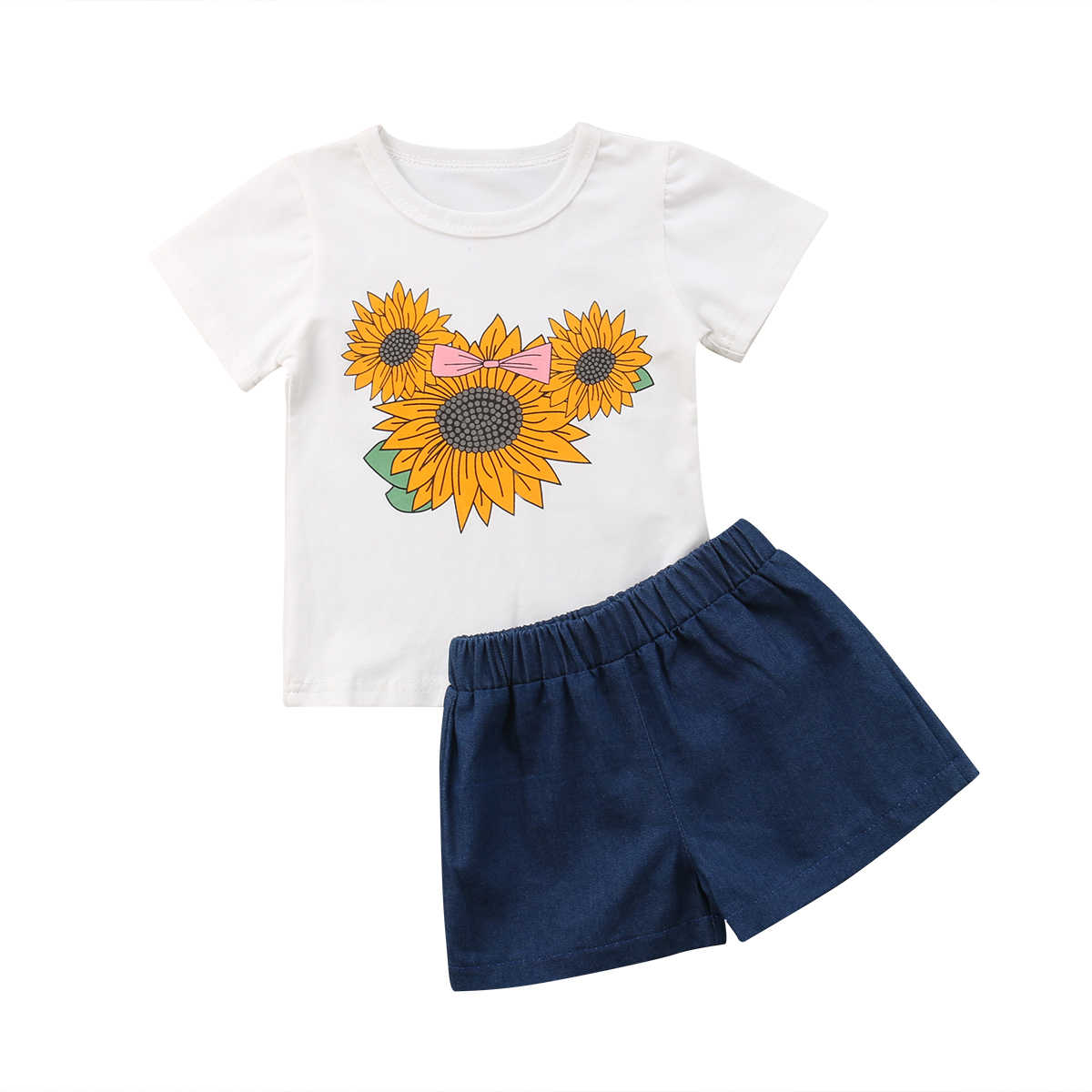 273b91a2a Detail Feedback Questions about Baby Girls Sunflower Clothing Set ...