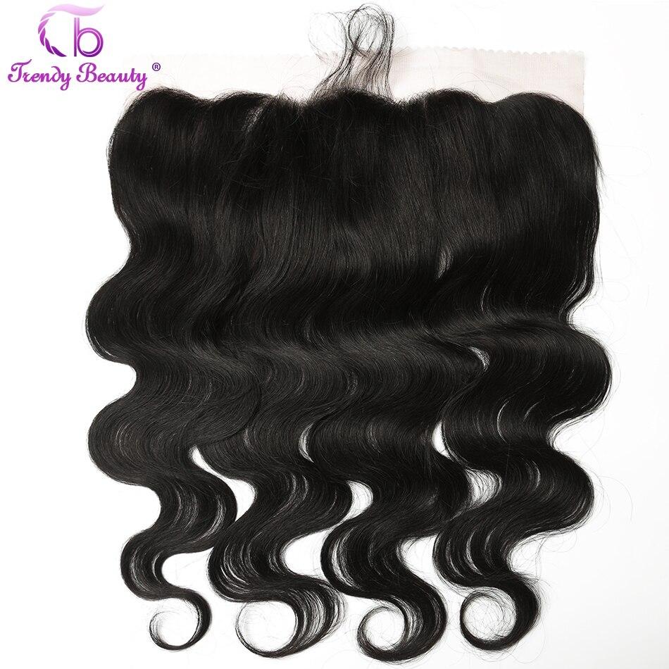 4pcs/lot Brazilian Body Wave Human Hair 3 Bundles With 13x4 Ear To Ear Lace Frontal Closure Non Remy Free Ship Trendy Beauty