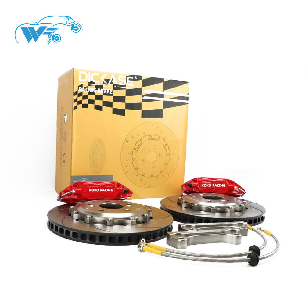 KOKO RACING WT7600 brake kit center cap 5*100 PCD center hole 58mm brake drum 190mm and bracket for SUBARU Forester rear