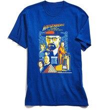 3D Printed T-Shirt Men Breaking T Shirt Group Short Sleeve Company Cotton Tops Normal Top Tshirt Heisenberg & The Empire