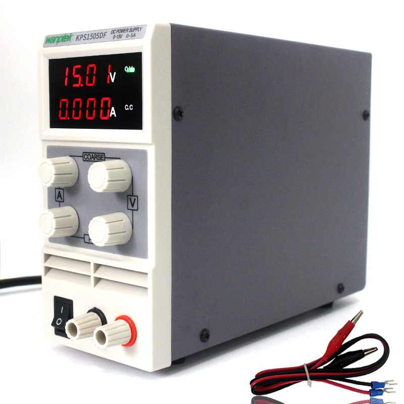Mini KPS1505DF Adjustable Digital DC Power Supply 0-150V 0-5A Laboratory Switching DC Power Supply 0.01V 0.00A