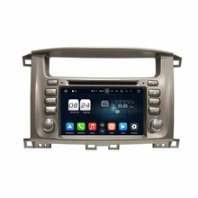 2GB RAM Octa Core 2 din 7″ Android 6.0 Car Audio DVD Player for Toyota Lander Cruiser 100 With Radio GPS WIFI Bluetooth USB DVR