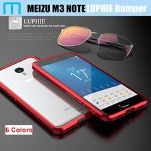 Meizu M3 Note бампер Luphie original highly окисленного ультра тонкий алюминиевый металлический каркас для Meizu M3 Note Prime Pro 5.5 «случаи Жесткий