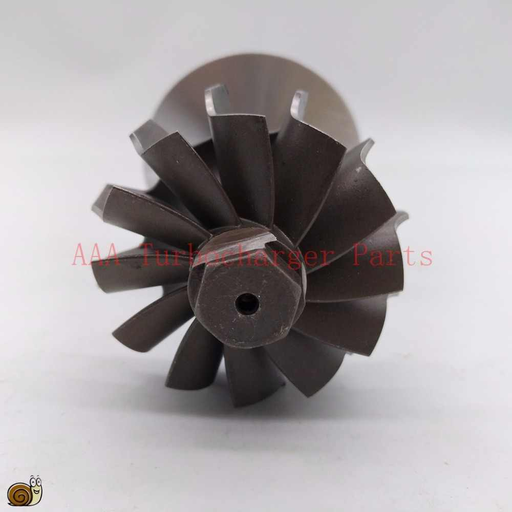 HE221W Turbocharger Bagian Roda Turbin 43.9X50.2 MM, 12 Pisau, kompresor Roda 43.4X61 Mm 6/6, Supplier AAA Turbocharger Bagian
