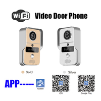 2019 New Wifi IP Video door phone for smartphone&tablets app wireless RFID card video doorbell Access Control door intercom