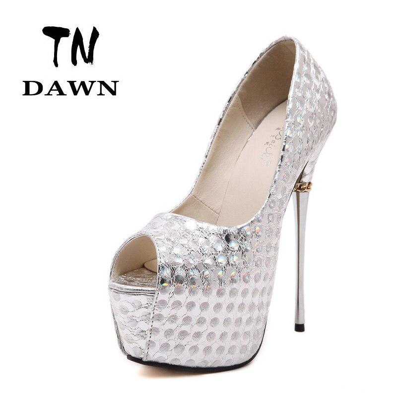 Online Get Cheap Silver Stiletto Heels -Aliexpress.com | Alibaba Group