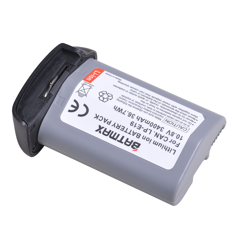 1Pc 3400mAh 10.8V LP E19 LP E19 Battery Akku for Canon 1DX 1DX MarK2 Mark3 MARK4 1DS SLR Cameras Digital Batteries Consumer Electronics - title=