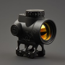 Tactical trijicon MRO style 1x red dot sight scope with high and Low picatinny r