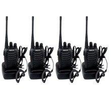 4pcs Walkie Talkie Retevis H777 UHF 400-470MHz 16CH Ham Radio Hf Transceiver 2 Way Radio Communicator Walkie-talkie Handy A9105A