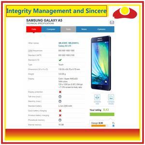 Image 3 - 10 Pcs/lo Für Samsung Galaxy A5 2015 A500 A500F A500FU A500H A500 LCD Display Mit Touch Screen Digitizer panel Pantalla Komplette