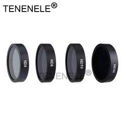 TENENELE Drone ND Filter ND4/8/16/32 Lens Filters For DJI Phantom 3 4K Advanced Standard SE Professional gimble Accessories