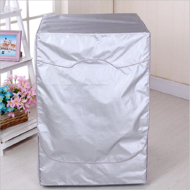 Coating Oxford Cloth Full-automatic Roller Washing Machine Washer and Dryer Cover Waterproof Sun-resistant Dust Cover H037