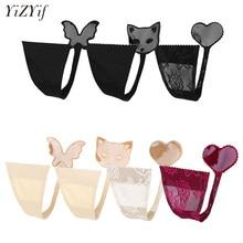 YiZYiF Women C Style Panties Invisible Underwear No Panty Li