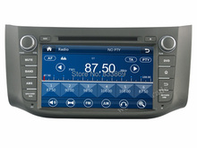 HD 2 din 8″ Car DVD GPS Navigation for Nissan SYLPHY  B17 2012 2013 2014 With USB Bluetooth IPOD TV Radio/RDS SWC AUX IN