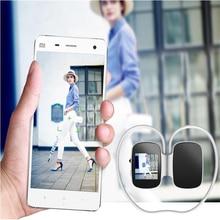 Wireless Bluetooth Smart Earphones Touch screen Stereo Stopwatch Headphones Sport Pedometer Sleeptracker MP3 Player with TF Card