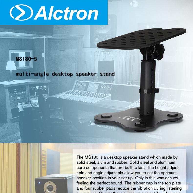 Alctron Ms180 5 Stand Holder For Desktop Speaker Adjustable Height
