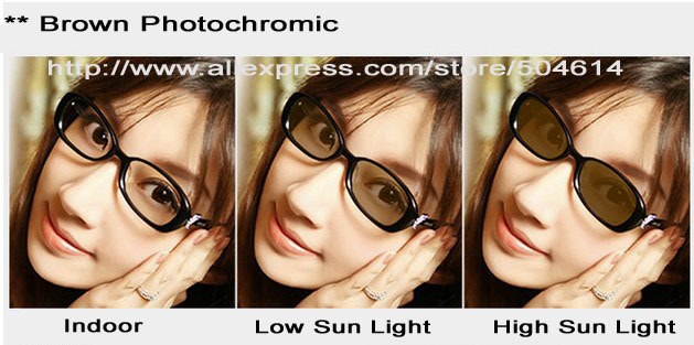 transition lenses  Aliexpress.com : Buy Prescription 1.56 High Index Photochromic ...