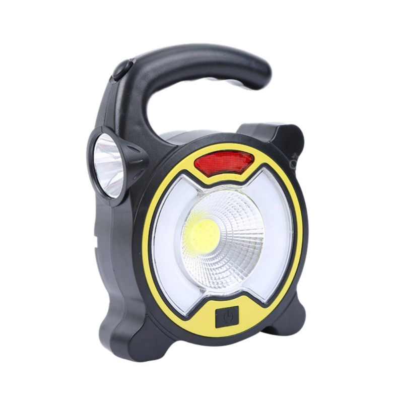 USB Charging Warning Light With Flashlight Multi-purpose Emergency Lights Outdoor Camping Lamp Light