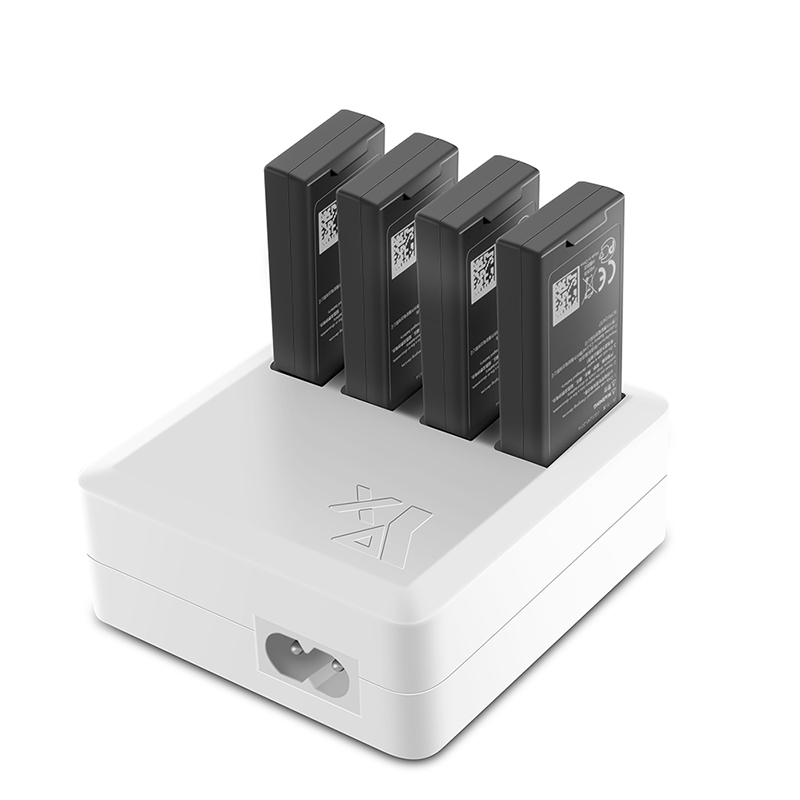 4 in 1 DJI Tello Drone Battery Charger Hub for Intelligent Battery Fast Charging for DJI Tello Drone US EU Plug Charger in Drone Battery Chargers from Consumer Electronics