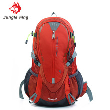Jungle King 2017 new hiking nylon anti-tear waterproof outdoor climbing bag sports backpack 40L camping package student bag