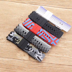 Image 3 - Heat Original quality watchband Accessories watch strap band For Swatch for Touch series Silicone  stainless buckle logo SURB100