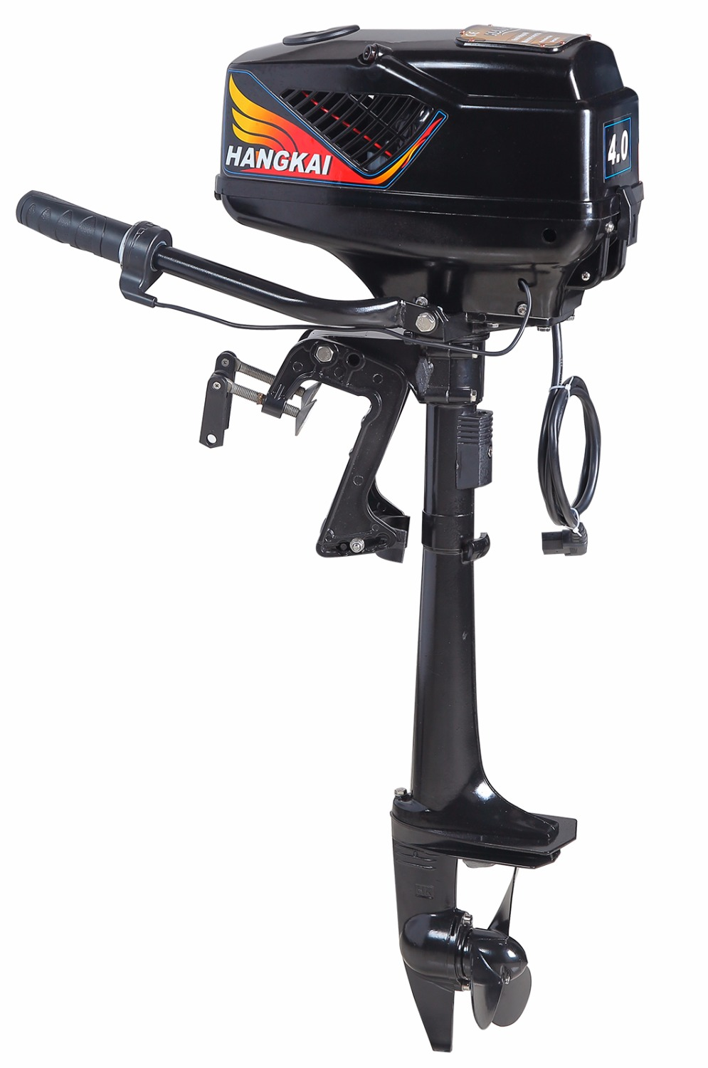 Brand new hangkai 4 0hp brushless electric boat outboard for 400 hp boat motor price