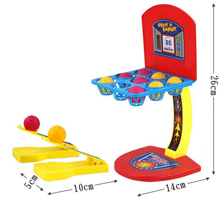BOHS-Parent-Child-Family-Fun-Hoodle-Marble-Shooter-Shooting-Desktop-Basketball-Game-Fun-Toys-2