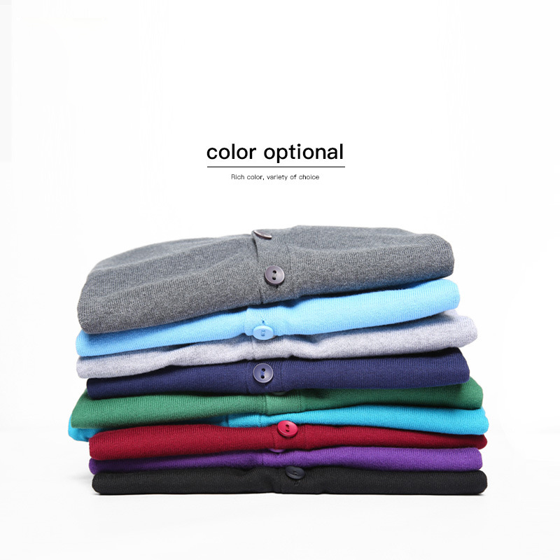 9 Colors 2020 Autumn New Men's Cardigan Sweater 100% Cotton Slim Solid Color High Quality Fashion Casual Knitting Sweater Male